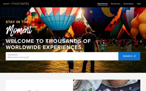 Best Travel Deals: Top Destinations, Experiences | Marriott