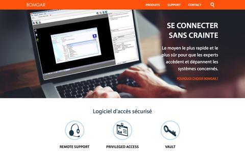 Logiciel de bureau distant pour un accès sécurisé | BOMGAR