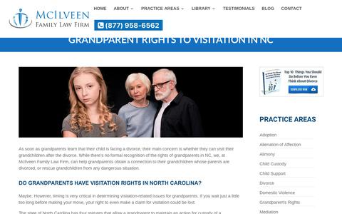 Grandparent Rights Child Custody and Visitation in North Carolina | McIlveen Family Law Firm