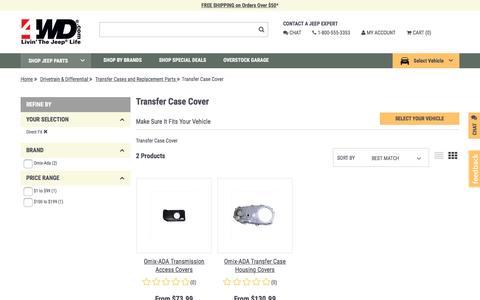Transfer Case Cover | 4wd.com