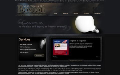 Boston Web Design & SEO - Offering Web Design & SEO Services in Boston, MA Area