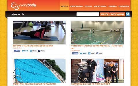 Screenshot of Press Page everybody.org.uk - Latest News - Everybody Sport & Recreation - captured Oct. 3, 2014