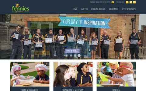Screenshot of Jobs Page fennies.com - Careers | Fennies Day Nursery & Preschool - captured Nov. 14, 2018