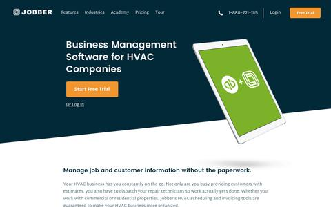HVAC Business and Service Management Software | Jobber