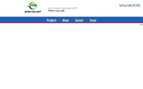 Screenshot of Login Page ggolf.com - Storefront Commerce Login - captured Nov. 2, 2014