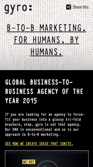 B-TO-B Marketing Agency For Humans, By Humans | gyro