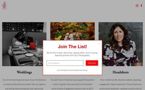 Screenshot of Pricing Page stanchambersjr.com - Pricing — StanChambersJr Photography - captured Nov. 17, 2018