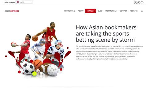 Screenshot of Services Page asianconnect88.com - Asianconnect Betting Brokerage ibcbet sbobet pinnacle sports - captured Sept. 23, 2014
