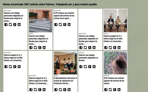 Screenshot of Home Page eltiodelaweb.net - PATERNAONLINE :: Buscador de noticias de Paterna - captured Jan. 4, 2017