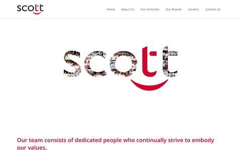 Screenshot of Team Page scott.mu - Scott Co Ltd |   Our People - captured Jan. 22, 2016