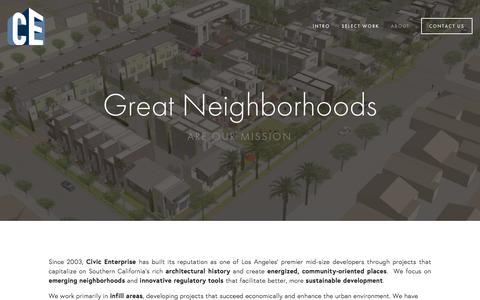 Screenshot of About Page civicenterprise.com - About Ń Civic Enterprise - captured Dec. 9, 2015