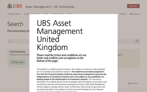 Screenshot of Team Page ubs.com - Search | UBS United Kingdom - captured Nov. 14, 2019