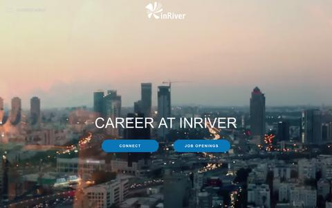 Screenshot of Jobs Page inriver.com - inRiver - CAREER AT INRIVER - captured Jan. 13, 2018