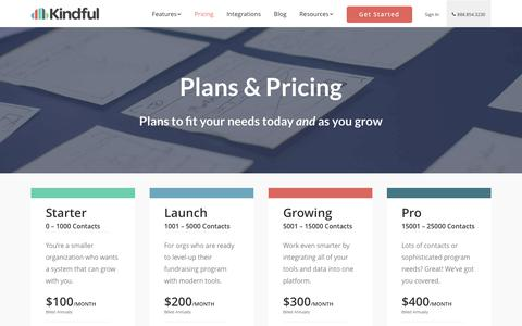 Pricing | Kindful