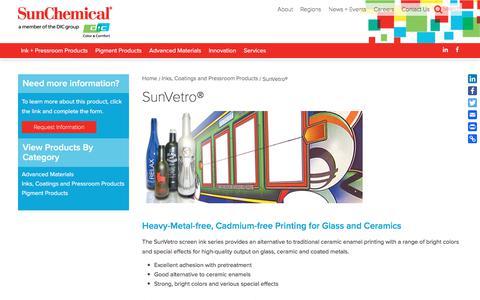 SunVetro® | Sun Chemical