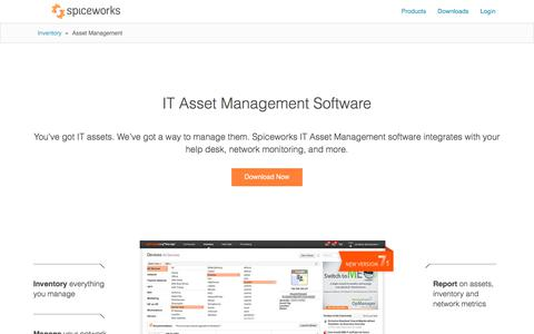 Free IT Asset Management Software from Spiceworks