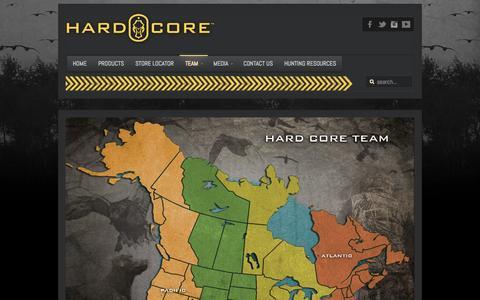 Screenshot of Team Page hardcore-brands.com - Hard Core Brands Team - Hard Core Brands - captured Oct. 2, 2014