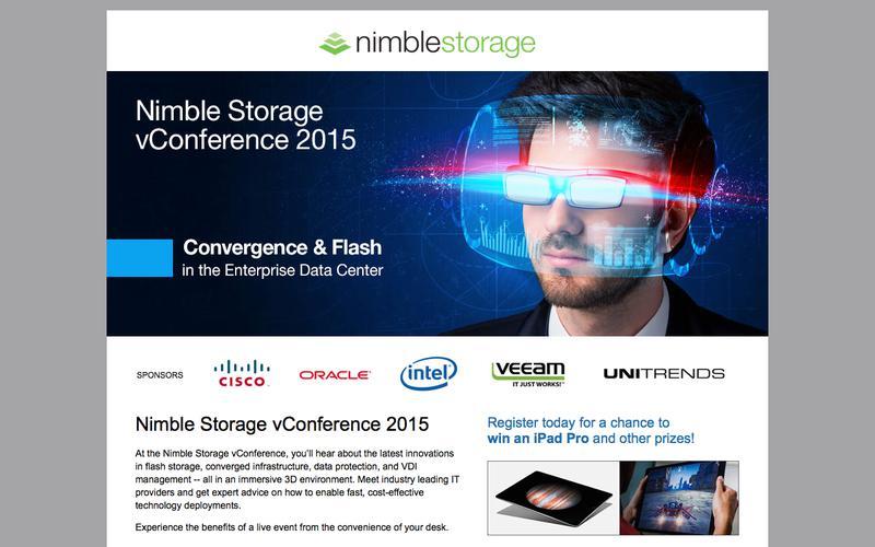 Nimble Storage vConference 2015
