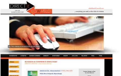 Screenshot of Services Page Terms Page directit-lowveld.com - Business Adverts on DIRECT'it LOWVELD | Lowveld Online Business Directory |  Mpumalanga Business Directory & Guide | Lowveld Online Advertising Website - captured Oct. 23, 2014