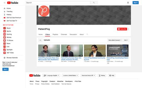 PatientPing  - YouTube