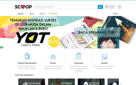 SCOOP Indonesia - Majalah Digital di iPad, iPhone, dan Android - production
