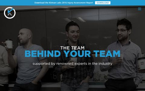 Screenshot of Team Page kitmanlabs.com - Kitman - About Us   Kitman Labs - captured July 4, 2016