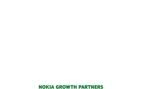 Screenshot of Home Page nokiagrowthpartners.com - Investing in growth-stage companies |Nokia Growth Partners - captured Feb. 13, 2016