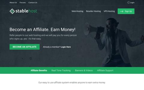 Affiliates | StableHost