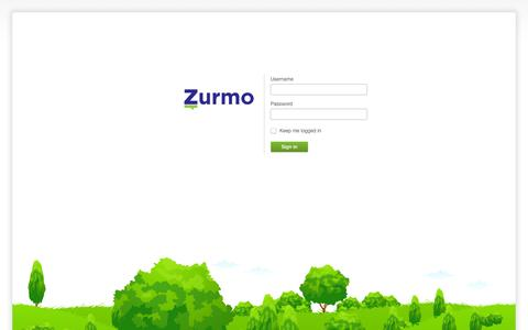 Screenshot of Login Page opencoaching.nl - ZurmoCRM - Sign in - captured Oct. 7, 2014