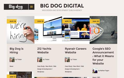 Screenshot of Blog bigdog.ie - Blog | Big Dog Digital - captured Nov. 22, 2016