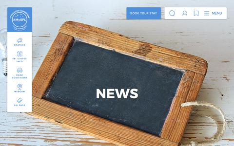Screenshot of Press Page saintfrancoislongchamp.com - News – Saint François Longchamp - captured Oct. 23, 2017