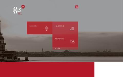 Screenshot of Home Page lixus.com.tr - lixus - captured Nov. 10, 2016