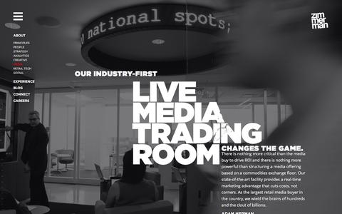 Screenshot of Press Page zadv.com - Zimmerman Advertising - Retail Media Buying - captured Dec. 2, 2016