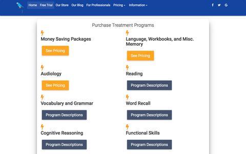 Screenshot of Menu Page parrotsoftware.com - Contact - captured June 30, 2018