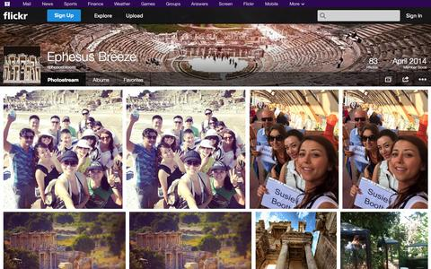 Screenshot of Flickr Page flickr.com - Flickr: ephesusbreeze's Photostream - captured Oct. 22, 2014