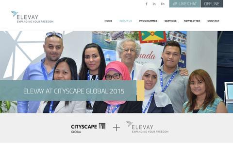 Screenshot of Press Page elevay.com - Cityscape Global Event 2015 - Elevay - captured Dec. 6, 2015