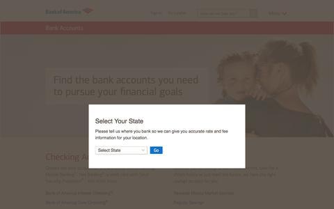 Bank Accounts - Open a Bank Account Online