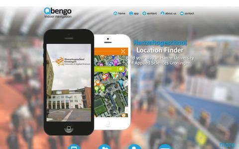 Screenshot of About Page qbengo.com - Qbengo - captured Sept. 29, 2014