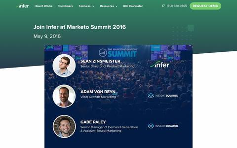 Screenshot of Press Page infer.com - (1) New Message! - captured Nov. 1, 2019
