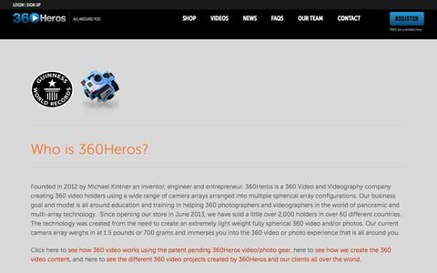 Screenshot of Jobs Page 360heros.com - 360Heros Career Opportunities | 360Heros | 360 Video - captured Sept. 19, 2014