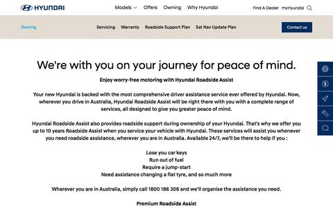 Roadside Support and Assistance - Hyundai Australia