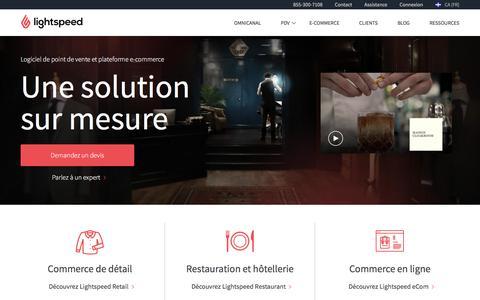 Lightspeed POS: Logiciel de point de vente et solution e-commerce