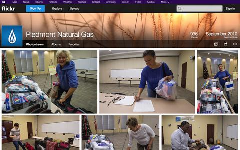Screenshot of Flickr Page flickr.com - Flickr: Piedmont Natural Gas' Photostream - captured Oct. 23, 2014