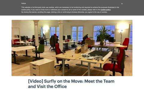 Screenshot of Team Page surfly.com - [Video] Surfly on the Move: Meet the Team and Visit the Office - captured Jan. 3, 2020