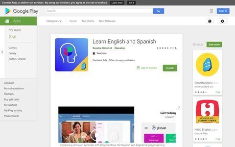 Learn English and Spanish - Apps on Google Play