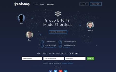 Freedcamp - Free Project Management