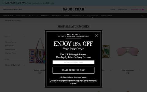Shop All Accessories   BaubleBar