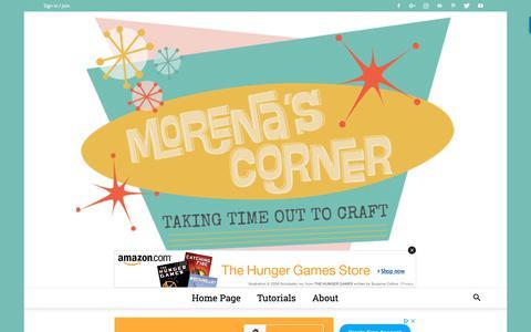 Screenshot of Privacy Page morenascorner.com - Privacy Policy - Morena's Corner - captured Sept. 29, 2018