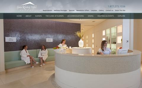 Screenshot of Jobs Page sparklinghill.com - Careers | Vernon BC | Sparkling Hill Resort - captured Sept. 19, 2014