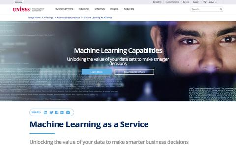 Machine Learning as a Service